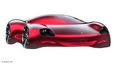 Porsche study • • • • • #design #automotivedesign #sketch #cardesign #carsketch #illustration #porsche