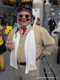 Porco Rosso (紅の豚 Kurenai no Buta / 1992 written and directed by Cool Animations, Hayao Miyazaki, I Love Anime, Kurt Cobain, Studio Ghibli, Costume Design, Give It To Me, Cosplay, Fan Art