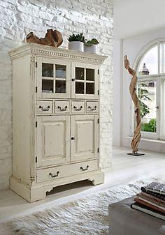Favorit Buffet »Oxford«, Höhe 157 cm in weiß antik im Online Shop von Baur Versand
