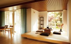 51 Marvelous Japanese Living Room Design Ideas For Your Home. The living-room establishes complex relationships with the other rooms in your home, relationships which ensure you the comfort you need t. Japanese Living Room Design Ideas, Living Room Japanese Style, Japanese Interior Design, Japanese Home Decor, Asian Home Decor, Interior Design Living Room, Living Room Designs, Living Room Decor, Japanese Bedroom Decor