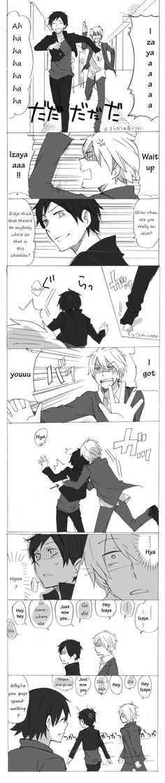 Haha! So cute! Shizaya