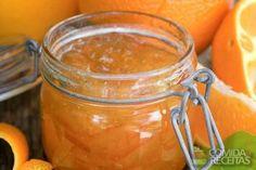 Receita de Geléia de laranja diet
