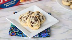 Our new cookie trick: Use pie crust to make a flaky cookie roll-up with a tasty chocolate swirl.