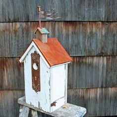 Ornate Door Plate Birdhouse