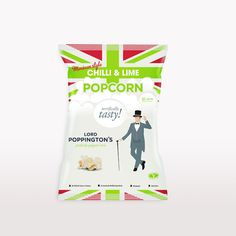 Lord Poppington's Popcorn on Packaging of the World - Creative Package Design Gallery