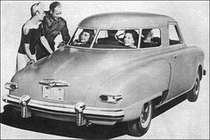 "1947 Studebaker Champion Starlight Coupe: ""Studebaker-- First By Far With a Postwar Car!"""