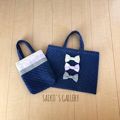 bag    ハンドメイドマーケット minne(ミンネ)| リボンのレッスンバッグ&シューズバッグ Market Bag, Sewing For Kids, Kids And Parenting, Handicraft, Fun Crafts, Purses And Bags, Reusable Tote Bags, Creative, Handmade