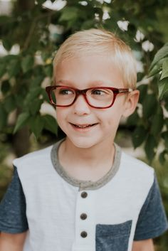 Red glasses for your little boy or girl child! Kids glasses with an impact   05b60bb4027e