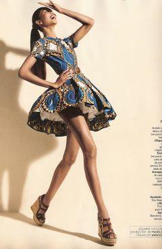 Vogue Spain February 2020 | Chanel Iman by Michelle Ferrara