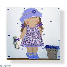 Cuadro infantil personalizado: Niño con sombrero(ref. 12009-15)