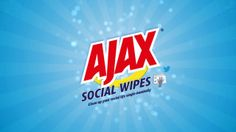 #AjaxSocialWipes are here to help you spring clean your social feeds single handedly! Created by #VMLAustralia.