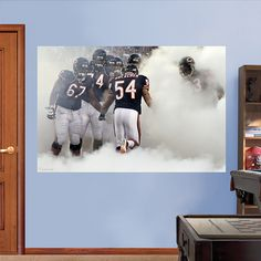 Exceptional Soldier Field Fireworks Mural Fathead Wall Graphic | Chicago Bears Wall  Decal | Sports Décor | Football Bedroom/Man Cave/Nursery | Pinterest |  Football, ... Part 18