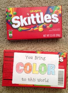 Skittles Puns for Valentine's Day   Candy Grams   Candy Puns   DIY Boyfriend Gifts  