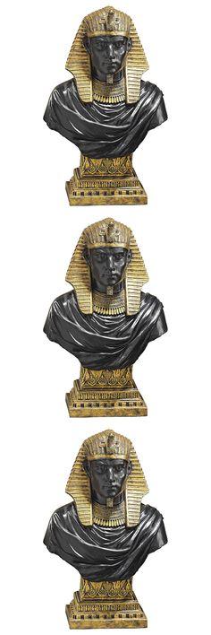 Ancient Egyptian King Rameses Exclusive Handmade Sculpture Desktop Bust
