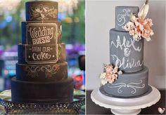 O bolo-lousa é feito em pasta americana preta, para fazer os escritos ou desenhos é utilizado um corante comestível. Já nos casos do bolo fake é utilizado o giz branco (de lousa).
