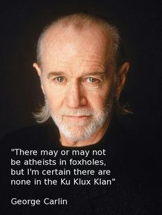 George Carlin was one of the most celebrated and long standing comedians in American History. Born in New York City in Carlin was a stand up comedian, author and actor. During his long career, Carlin won five grammy awards and was recenlty. George Carlin, Indiana Pacers, Pseudo Science, Be My Hero, Anti Religion, Stand Up Comedy, Raining Men, Actors, Look At You