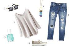 #Fashion spark: Easy-going