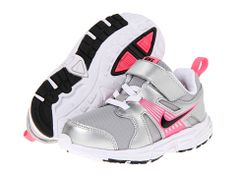 Nike Kids Dart 10 (Infant/Toddler) Metallic Silver/White/Digital Pink/Black - Zappos.com Free Shipping BOTH Ways