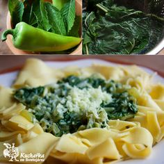 Kuchařka ze Svatojánu: NUDLE NAZELENO Macaroni And Cheese, Ethnic Recipes, Food, Mac And Cheese, Essen, Meals, Yemek, Eten