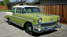 1956 Chevrolet Bel Air 2-Door Sedan.