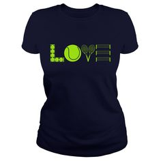 Love Tennis t shirts and hoodies