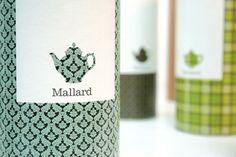 Thé Mallard - packaging - made by Sarah Walsh