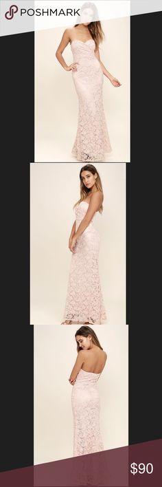 "LuLus - CoCo Love Inherent Beauty Dress LuLus - CoCo Love Inherent Beauty Dress.                       Size : Small Armpit to Armpit 15"" Approx Length 52"" CoCo Love  Dresses"