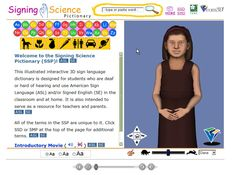 Asl Dictionary, Sign Language Dictionary, Elementary Science, Teaching Science, Teaching Ideas, Foundation Grants, Family Foundations, Deaf Culture, American Sign Language