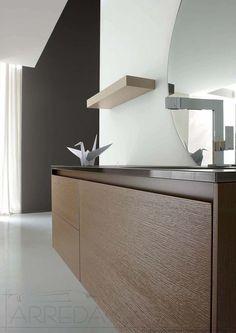 arredo bagno lavabo integrato specchio contenitore ly40 | prezzo ... - Arredo Bagno Moderno Prezzi
