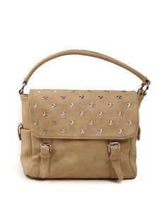 Τσάντα χειρός stars - Μπεζ 35,99 € Messenger Bag, Satchel, Shoulder Bag, Handbags, Fashion, Moda, Totes, Fashion Styles, Shoulder Bags