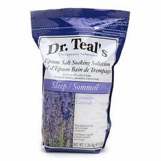 Dr. Teal's Epsom Lavender Salt Soaking solution