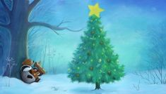Waiting for Santa by illustrator Alison Edgson