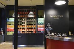 Dammann Frères (Thés) 24,place Victoria Paris 75001