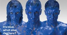 It's blue. What else matters? Chelsea Football Club's biggest stars illustrating their commitment and the lengths they will go to for the club.