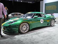An awesome GT4 race car by Lotus.
