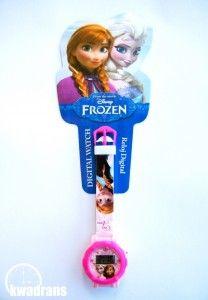 Original DISNEY watch for kids - FROZEN wristwatch with ELSA and ANNA