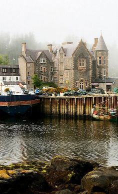 Lochinver mist, Sutherland, Highland, Scotland