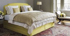 The Masterpiece Superb Bed with Eccleston Headboard & Divan base  SERENITY NOW WITH VISPRING BEDS — www.stylebeatblog.com