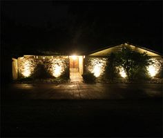 How to add easy outdoor lights for your home #diy  skiptomylou.org