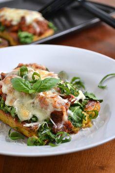 Creamy Garlic Herb Polenta & Polenta Lasagna