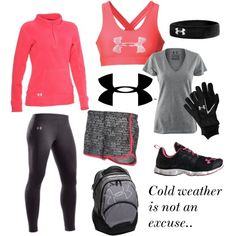 Ideas Sport Outfit Winter Under Armour Sporty Outfits, Athletic Outfits, Athletic Wear, Cute Outfits, Gym Outfits, Sport Style, Sport Chic, Workout Attire, Workout Wear