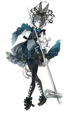 [ うさぎ うさぎ。 ] gothic girl