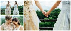 Columbia SC Wedding Photographer Nantahala Village Wedding 2 Brides