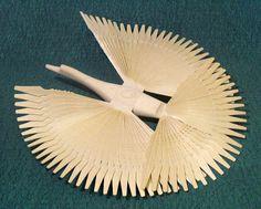Щепная птица счастья (голубь), 400