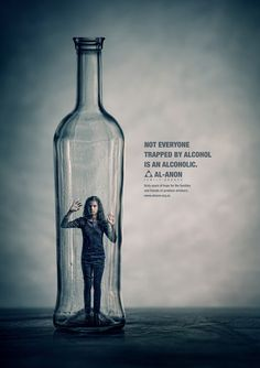 Not everyone trapped by alcohol is an alcoholic... Al-anon family groups support those who do not know how to cope with someone elses drinking be it husband, wife, mother, father brother or sister. There is help out there from these guys and recovery can start with you.