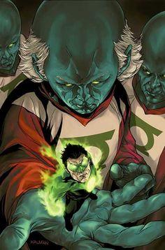 Kyle Rayner by Kalman Andrasofszky Dc Comics Superheroes, Dc Comics Characters, Dc Comics Art, Fun Comics, Green Lantern Hal Jordan, Green Lantern Corps, Green Lanterns, Comic Books Art, Comic Art