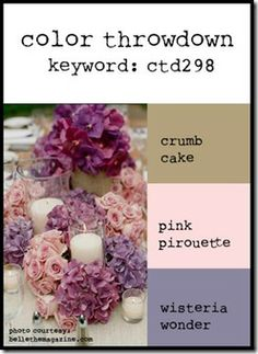 Great blend of those of so soft Stampin Up colours. Crumb Cake, Pink Pirouette and Wisteria Wonder........works for me!
