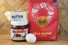 Nutella Cookies Ingredients