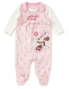 Minnie Mouse All in One Baby Set | Baby | George at ASDA