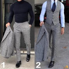 The Ultimate Guide To Trendy Winter Outfits - Yogallai Mens Fashion Magazine, Mens Fashion Blog, Suit Fashion, Fashion Outfits, Fashion Ideas, Fashion Hair, Best Suits For Men, Cool Suits, Mens Suits